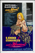 """Movie Posters:Bad Girl, 1,000 Convicts and a Woman (American International, 1971). OneSheet (27"""" X 41""""). Bad Girl. ..."""