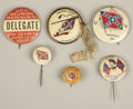Military & Patriotic:Civil War, LOT OF (6) UCV PIN BACK BUTTONS ca 1900's... (Total: 6 Items)