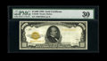 Small Size:Gold Certificates, Fr. 2408 $1000 1928 Gold Certificate. PMG Very Fine 30.. ...