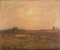 Paintings, GERBRAND FREDERICK VAN SCHAGEN (Dutch 1880-1968). At Pasture, 1899. Oil on canvas. 19-5/8 x 27-1/2 inches (50 x 70 cm). ...