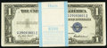 Small Size:Silver Certificates, Fr. 1615 $1 1935F Silver Certificates. Original Pack of 100. Choice Crisp Uncirculated.. ... (Total: 100 notes)