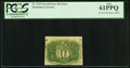 Fractional Currency:Second Issue, Fr. 1246 10¢ Second Issue PCGS New 61PPQ.. ...