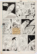 Original Comic Art:Panel Pages, José Delbo and Dave Hunt Transformers #39 Story Page 18Original Art (Marvel, 1988)....