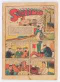 Golden Age (1938-1955):Superhero, Action Comics #12 (DC, 1939) Condition: Coverless....