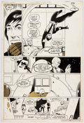 Original Comic Art:Panel Pages, Keith Giffen and Dave Hunt The Legion of Super-Heroes #295Story Page 21 Timber Wolf and Bloc Original Art (DC Com...