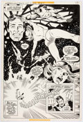 Original Comic Art:Splash Pages, Joe Staton with David Hunt Superboy & the Legion ofSuper-Heroes #252 Story Page 3 Original Art (DC Comics,1979)....