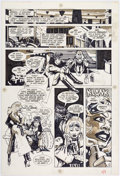 Original Comic Art:Panel Pages, Howard Chaykin American Flagg! #3 Story Page 9 Original Art (First, 1983)....