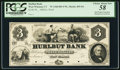 Obsoletes By State:Connecticut, West Winsted, CT- Hurlbut Bank $3 G6 Proof. ...