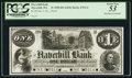 Obsoletes By State:Massachusetts, Haverhill, MA- Haverhill Bank $1 G4 Proof. ...