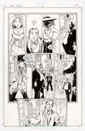 Original Comic Art:Panel Pages, Peter Gross Books of Magic #45 Story Page 14 Original Art(DC/Vertigo, 1998)....