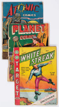 Golden Age (1938-1955):Miscellaneous, Golden Age Miscellaneous Comics Group of (Various Publishers, 1940s-50s) Condition: Average FR/GD.... (Total: 10 Comic Books)