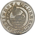 Colonials, 1776 $1 Continental Dollar, CURRENCY, EG FECIT, Pewter -- Tooled -- PCGS Genuine. Unc Details. Newman 3-D. W-8460. R.4. ...