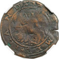 (1615-16) 6PENCE Sommer Islands Sixpence, Large Portholes VF25 NGC. Breen-3. W-11445. R.6. ...(PCGS# 5)