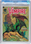 Magazines:Horror, Vampire Tales #2 (Marvel, 1973) CGC NM+ 9.6 White pages....
