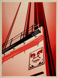 Fine Art - Work on Paper:Print, Shepard Fairey (b. 1970)Sunset & Vine Billb...