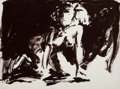 Fine Art - Work on Paper:Print, Eric Fischl (b. 1948). Woman on all fours, from Annie,Gwen, Lilly, Pam, and Tulip, 1986. Lithograph in colors onwo...