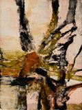 Fine Art - Work on Paper:Print, Zao Wou-Ki (1921-2013). Tree of Life, from Official ArtsPortfolio of the XXIVth Olympiad, Seoul, Korea, 1988. Litho...