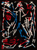 Fine Art - Work on Paper:Print, A. R. Penck (1939-2017)Mul, Bul Dang & Sent...