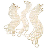 Cultured Pearl, Gold Necklaces
