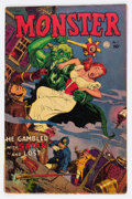 Golden Age (1938-1955):Horror, Monster #1 (Fiction House, 1953) Condition: GD/VG....