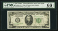Small Size:Federal Reserve Notes, Fr. 2058-B* $20 1934D Wide Federal Reserve Note. PMG Gem Uncirculated 66 EPQ.. ...