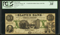 Obsoletes By State:Rhode Island, North Providence, RI- Slater Bank $10 Jan. 1, 1861 G8b Durand 866. ...