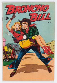 Broncho Bill #8 (United Feature Syndicate/Standard, 1948) Condition: FN