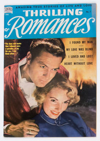 Thrilling Romances #7 (Standard, 1950) Condition: VF+
