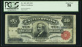 Large Size:Silver Certificates, Fr. 301 $10 1891 Silver Certificate PCGS About New 50.. ...