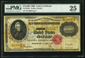 Large Size:Gold Certificates, Fr. 1225h $10,000 1900 Gold Certificate PMG Very Fine 25.. ...