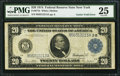 Error Notes:Large Size Errors, Fr. 971b $20 1914 Federal Reserve Note PMG Very Fine 25.. ...