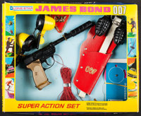 """James Bond Lot (Lone Star Products, 1973). British Action Toy Set in Original Packaging (12"""" X 14.5"""" X 2""""..."""