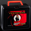 "Movie Posters:James Bond, GoldenEye 007 & Other Lot (Bluebird, 1995). Lunch Boxes (2) (9""X 7.5"" X 4""). James Bond.. ... (Total: 2 Items)"