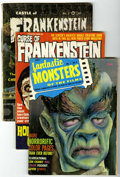 Magazines:Miscellaneous, Miscellaneous Monster Magazine Group (Various Publishers, 1961-65)Condition: Average GD/VG.... (Total: 27 Comic Books)
