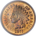 1875 1C PR66 Red and Brown PCGS....(PCGS# 2313)