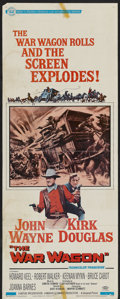 """Movie Posters:Western, The War Wagon Lot (Universal, 1967). Inserts (2) (14"""" X 36"""").Western. ... (Total: 2 Items)"""