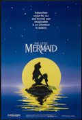 "Movie Posters:Animated, The Little Mermaid (Buena Vista, 1989). One Sheet (27"" X 40"") DS Advance. Animated. ..."