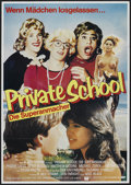 """Movie Posters:Comedy, Private School (Universal, 1983). German A1 (23"""" X 33""""). Comedy. ..."""