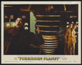 """Movie Posters:Science Fiction, Forbidden Planet (MGM, 1956). Lobby Card (11"""" X 14""""). ScienceFiction. ..."""