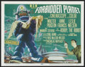 "Movie Posters:Science Fiction, Forbidden Planet (MGM, 1956). Title Lobby Card (11"" X 14""). ScienceFiction. ..."