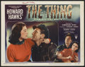 "Movie Posters:Science Fiction, The Thing From Another World (RKO, 1951). Autographed Lobby Card(11"" X 14""). Science Fiction. ..."