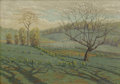 Fine Art - Painting, American:Modern  (1900 1949)  , WILLIAM ANDERSON COFFIN (American 1855-1926). Early Spring.Oil on canvas. 14 x 20 inches (35.6 x 50.8 cm). Signed lower...