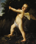 Paintings, ORESTE COSTA (Italian 1851-1901). Cupid. Oil on canvas. 31 x 24-3/4 inches (78.7 x 62.9 cm). Signed lower right: O. Co...