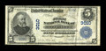 National Bank Notes:Maryland, Havre de Grace, MD - $5 1902 Plain Back Fr. 598 The First NB Ch. #3010. ...