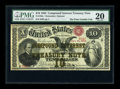 Large Size:Compound Interest Treasury Notes, Fr. 190a $10 1864 Compound Interest Treasury Note PMG Very Fine20....
