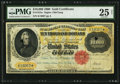 Large Size:Gold Certificates, Fr. 1225e $10,000 1900 Gold Certificate PMG Very Fine 25 Net.. ...
