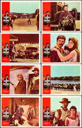 "Movie Posters:Western, A Fistful of Dollars (United Artists, 1967). Lobby Card Set of 8 (11"" X 14"").. ... (Total: 8 Items)"