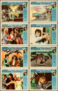 """Movie Posters:Hitchcock, The Birds (Universal, 1963). Lobby Card Set of 8 (11"""" X 14"""").. ...(Total: 8 Items)"""