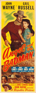 "Movie Posters:Western, Angel and the Badman (Republic, 1947). Insert (14""..."