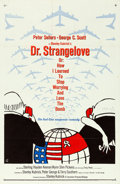 """Movie Posters:Comedy, Dr. Strangelove or: How I Learned to Stop Worrying and Love theBomb (Columbia, 1964). One Sheet (27"""" X 41"""") Day Glo Style, ..."""